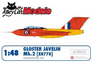 Gloster Javelin Mk.2 (XA778) Conversion and Decal Set